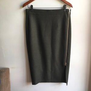 NWT Zara Pencil Skirt with Zipper